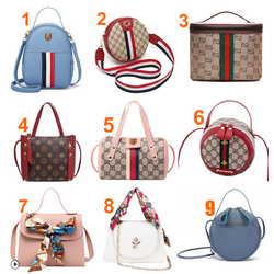 [Bộ Siêu Tập Túi Miễn Phí Ship] Túi thời trang nữ Hàn Quốc 9 Mẫu Hót Nhất đủ màu
