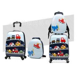 Vali cứng in hình ô tô (kèm túi)