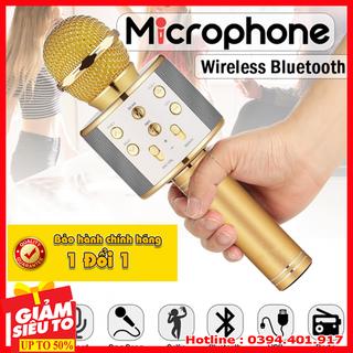Micro karaoke loa liền - micro karaoke loa lien thumbnail