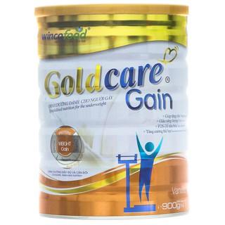 [Best Choice - Hoàn tiền 311% KHÔNG CHÍNH HÃNG] Sữa bột Goldcare Gain dinh dưỡng cho người gầy lon 900g (Tăng cân) - Win1 thumbnail