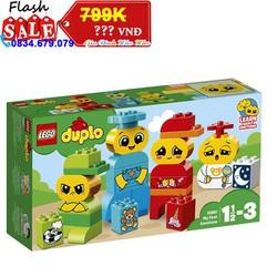 [XẢ KHO] - LEGO DUPLO - Bộ Cảm Xúc Đầu Tiên Của Bé 10861 - Cho bé 1.5 - 3 tuổi -  28 chi tiết