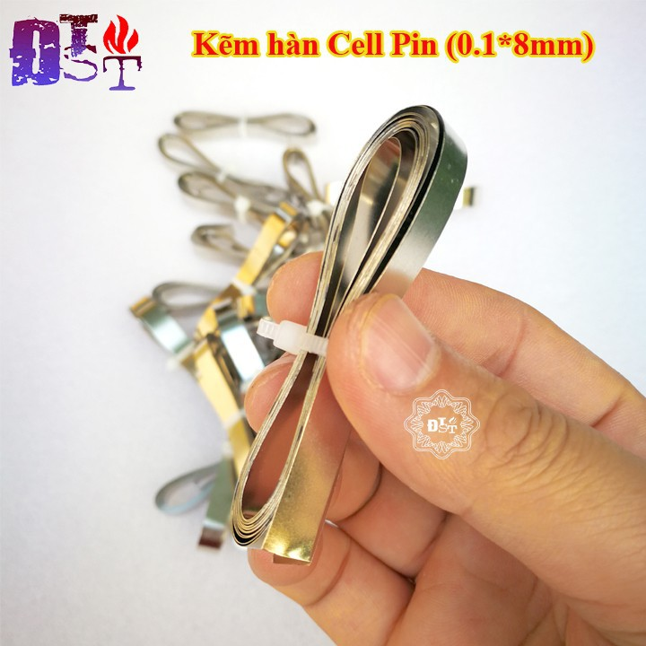 Kẽm hàn cell pin 0.1*8mm