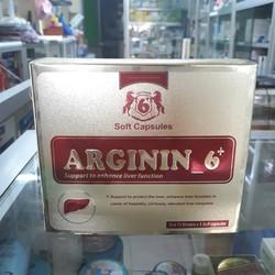 Arginin 6+ giúp tăng cường và hỗ trợ chức năng gan