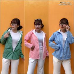 Áo khoác kaki 2 lớp nữ