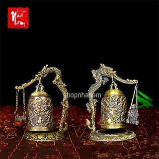 Vật phẩm phong thủy chuông đồng để bàn chiêu mộ tài lộc - TTPK_ChuongDongDeBan thumbnail