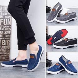 Giày mọi, giày lười - giày mọi thể thao vải jean thời trang Hàn Quốc 2020 SPORT