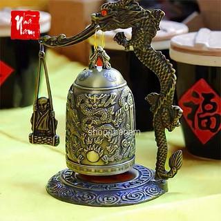 Vật phẩm phong thủy chuông đồng để bàn chiêu mộ tài lộc [ĐƯỢC KIỂM HÀNG] 29319411 - 29319411 thumbnail