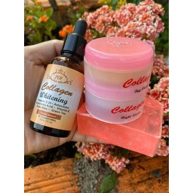 combo serum và bộ kem collagen plus vit e - combo serum và bộ kem collagen plus vit e