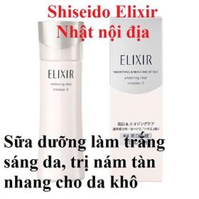 Sữa dưỡng Elixir làm trắng sáng da, trị nám tàn nhang - 4901872963416