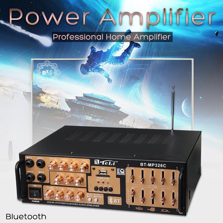 Amply Bluetooth TeLi BT-MP326C