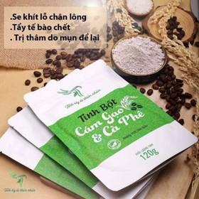 Cám gạo cà phê Tắm Trắng _120g - Cám gạo cà phê Tắm Trắng