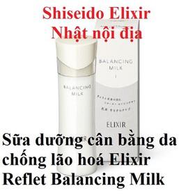 Sữa dưỡng cân bằng da chống lão hoá Elixir Reflet Balancing Milk 130ml - 4901872068470