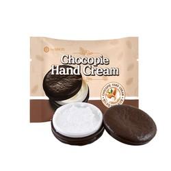 Kem dưỡng trắng da tay The Saem Chocopie Hand Cream Almond Milk (35ml)
