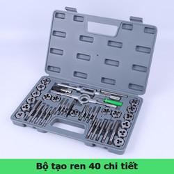 Bộ tạo ren cỡ đại 40 chi tiết bộ taro hợp kim siêu cứng