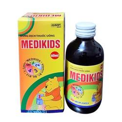 Siro Medikids (trẻ biếng ăn, suy dinh dưỡng) chai 60ml
