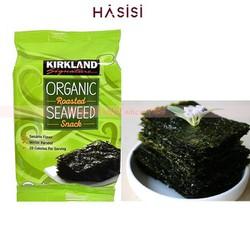 Rong Biển Sấy Khô KIRKLAND - Organic Roasted Seaweed Snack 17g