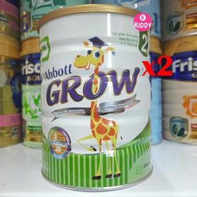 Combo 2 lon sữa Abbott Grow 2-900g - 2-abbott-grow-2-900