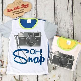 Áo phông cammera 3D cho bé - áo phông mùa hè chất siêu mát - AOASOAD thumbnail