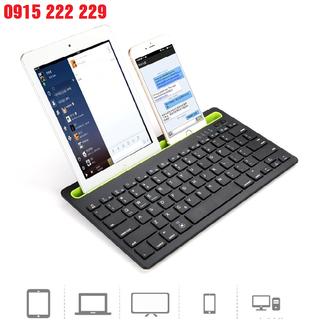 Bàn phím không dây bluetooth PK 908 dùng cho điện thoại, máy tính bảng, máy tính - Bàn phím bluetooth PK 908 thumbnail