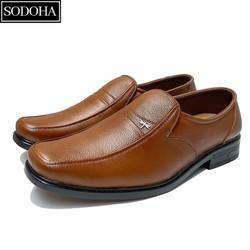 Giày tây nam kiểu lười da bò Rozalo R5832-Nhiều màu