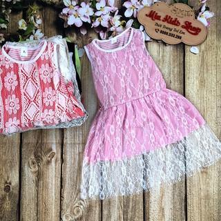 Váy đầm ren công chúa cho bé gái - VDCCBDG thumbnail