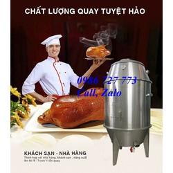Lò nướng gà vịt inox, Lu quay gà vịt phi 60