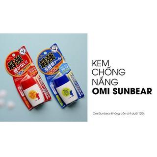 Kem chống nắng Nhật bản Omi Sun Bear Plus SPF50+PA++++ chính hãng - MADE IN JAPAN-SP109 5