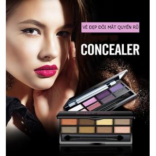 Phấn mắt trang điểm quyến rũ IMAGES bảng màu mắt trang điểm mắt đồ makeup 12g XP-SPU021 - SPU021 thumbnail
