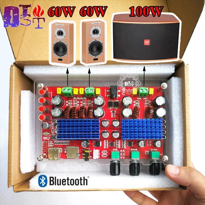 Mạch khuếch đại âm thanh  ClassD 2.1 Bluetooth