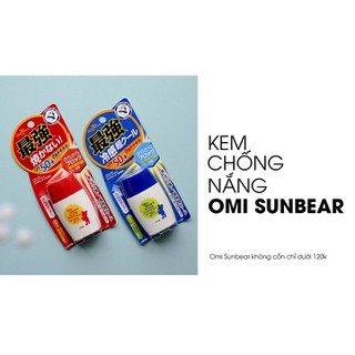 Kem chống nắng Omi Sun Bear Plus SPF50+PA++++ - MADE IN JAPAN-SP109 4