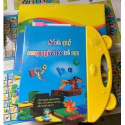 sách nói điện tử song ngữ Anh Việt cho bé.