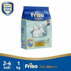 Sữa Friso gold số 4 dạng túi 1kg