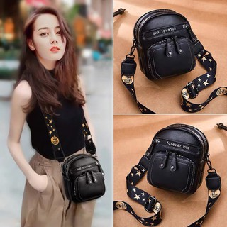 Balo túi đeo chéo thời trang du lịch đi học mini nữ HOT JASU2020 - BLA thumbnail