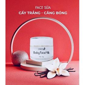 Cấy trắng Baby Face Milk- mẫu mới kem Lodas - babyface