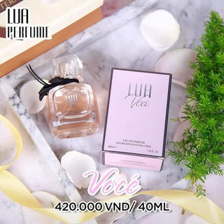 Nước hoa nữ Lua Voce NGỌT NGÀO VÀ QUYẾN RŨ(40ML) - LUA VOCE thumbnail