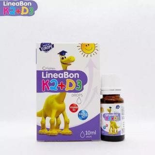 Vitamin D3 cộng K2 LineaBon có chứa MK7 hấp thụ canxi - VITAMIN D3K2 LINEABON thumbnail