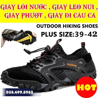 Giày Lội Nước - Giày Leo Núi , Đi Phượt - Giày Đi Câu Cá - MS16 - 001 thumbnail