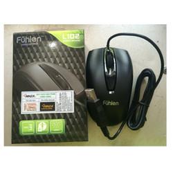 Chuột dây Fuhlen L102 - Bảo hành 2 năm - Kết nối USB