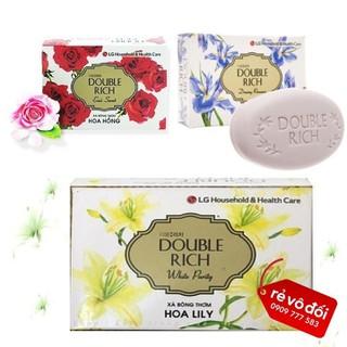 [ Mua từ 10 sp hỗ phí ship ] Xà phòng thơm hương hoa Double Rich 90g - Hàng công cty - DoubleRich XB 90g thumbnail