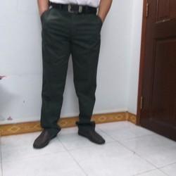 Quần kaki trung niên caro kk32