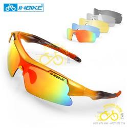 Bộ kính mát xe đạp thể thao 5 mặt INBIKE IG966