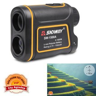Ống nhòm đo khoảng cách, tốc độ laser siêu xịn SNDWAY Kính Viễn Vọng Đo Xa SW600A SW1000A SW1500A - Seagd771 thumbnail