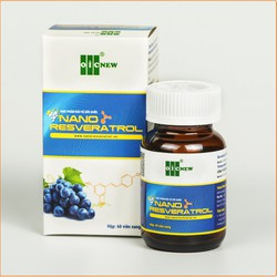 Nano Resveratrol OIC – Hỗ trợ điều trị bảo vệ tim mạch, giảm cholesterol, giảm mỡ máu, điều hòa huyết áp và tăng cường hệ miễn dịch - Hộp 60 viên nang mềm (300mg)