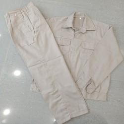 Quần áo bảo hộ vải kaki