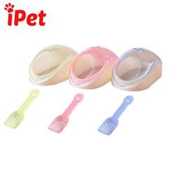 Phụ Kiện Hamster Nhà Tắm Cho (Tặng kèm xẻng) - iPet Shop