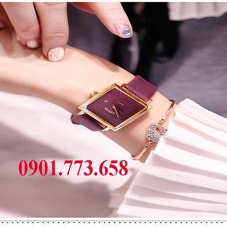 đồng hồ thời trang nữ dây da - đồng hồ thời trang nữ dây da thumbnail