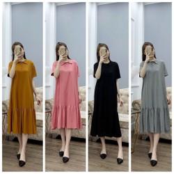 váy bầu, đầm bầu dáng suông hàng thiết kế 45-75kg ( ảnh thật)