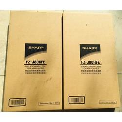 Bộ màng lọc hepa và than hoạt tính máy Sharp FP-J60E-W/ FP-J80EV-H