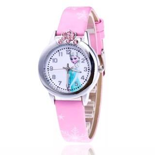 Đồng hồ Trẻ Em Cao Cấp Hoạt Hình Elsa & Anna đáng yêu dành cho bé - CH000 hàng vnxk - CH000 thumbnail