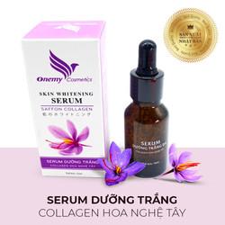 Serum dưỡng trắng Collagen Onemy Skin Whitening 15ml - Giảm thâm nám chống lão hóa chiết xuất nhuỵ hoa nghệ tây